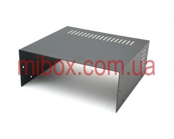 Корпус металлический MB-17 (Ш235 Г217 В92) черный, RAL9005(Black textured)