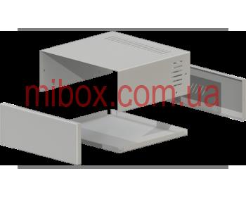 Корпус металлический, модель MB-17ECU-W235H92L217, RAL9006(Metallic textured)