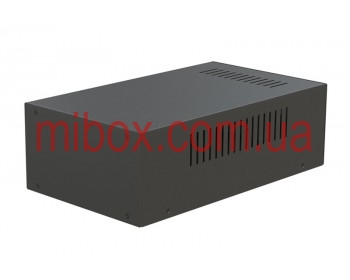 Корпус металлический MB-18 (Ш180 Г310 В100) черный, RAL9005(Black textured)