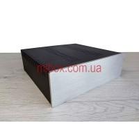 Корпус металлический с алюминиевой панелью MB-19 (Silver) (Ш260 Г250 В80) черный, RAL9005(Black textured)