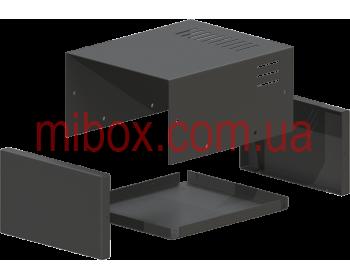 Корпус металлический MB-2 (Ш150 Г180 В90) черный, RAL9005(Black textured)