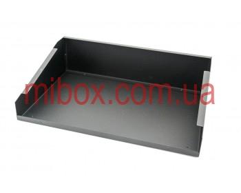 Корпус металлический с наклонной панелью MB-24 (Ш330 Г220 В90) черный, RAL9005(Black textured)