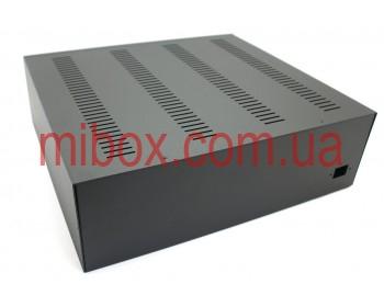 Корпус металлический, модель MB-26ECU-W430H132L385, RAL9005(Black textured)