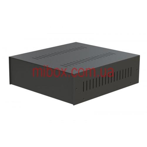 Корпус металлический MB-28 черный, RAL9005(Black textured)