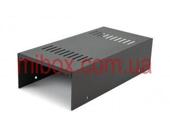 Корпус металлический MB-3 (Ш120 Г240 В65) черный, RAL9005(Black textured)