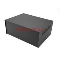 Корпус металлический MB-39 (Ш295 Г217 В120) черный, RAL9005(Black textured)