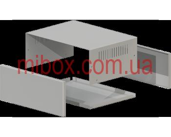 Корпус металлический MB-39 (Ш295 Г217 В120) металик, RAL9006(Metallic textured)