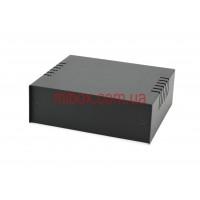 Корпус металлический, модель MB-4ECU-W150H50L130, RAL9005(Black textured)