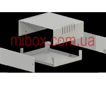Корпус металлический MB-4 (Ш150 Г130 В50) металик, RAL9006(Metallic textured)