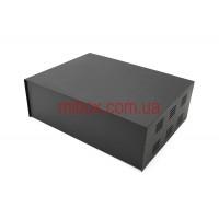 Корпус металлический, модель MB-40ECU-W304H100L230, RAL9005(Black textured)