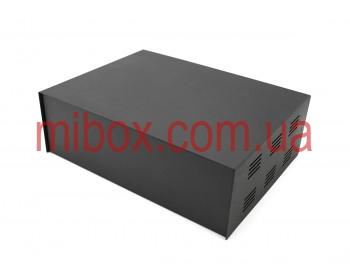 Корпус металлический MB-40 (Ш304 Г230 В100) черный, RAL9005(Black textured)