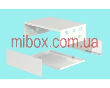 Корпус металлический, модель MB-40ECU-W304H100L230, RAL9016(White)