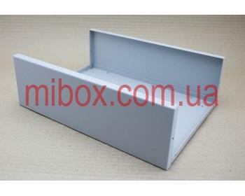 Корпус металлический, модель MB-40ECU-W304H100L230, RAL9006(Metallic textured)