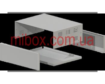 Корпус металлический MB-40 (Ш304 Г230 В100) металик, RAL9006(Metallic textured)