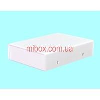 Корпус металлический MB-44 (Ш75 Г105 В25) белый, RAL9016(White textured)