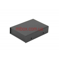 Корпус металлический, модель MB-44ECU-W75H25L105, RAL9005(Black textured)