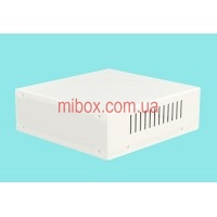 Корпус металлический MB-5 (Ш190 Г200 В65) белый, RAL9016(White textured)