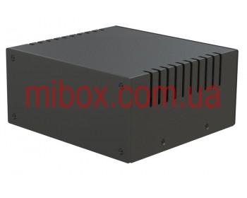 Корпус металлический MB-6 (Ш150 Г140 В70) черный, RAL9005(Black textured)