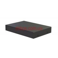 Корпус металлический MB-7 (Ш70 Г50 В25) черный, RAL9005(Black textured)
