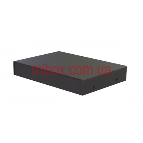 Корпус металлический, модель MB-7ECU-W150H25L105, RAL9005(Black textured)