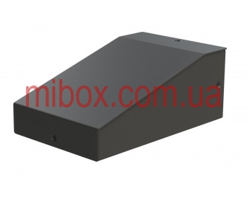 Корпус металлический, модель MB-8ECU-W90H60L125, RAL9005(Black textured)