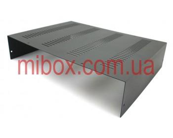 Корпус металлический, модель MB-20ECU-W420H90L310, RAL9005(Black textured)