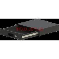 Корпус металлический Rack 2U, модель MB-2400RD (Ш483(432) Г400 В88 черный, RAL9005(Black textured)