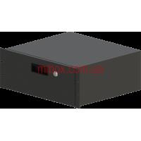Корпус металлический Rack 4U, модель MB-4400RD (Ш483(432) Г400 В176 черный, RAL9005(Black textured)