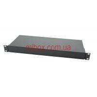 Корпус металлический Rack 1U, модель MB-1160RCS-W430H44L160, RAL9005(Black textured)