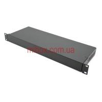 Корпус металлический Rack 1U, модель MB-1160vS (Ш483(432) Г162 В44) черный, RAL9005(Black textured)