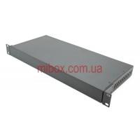 Уценка. Корпус металлический Rack 1U, модель MB-1200vS (Ш483(432) Г202 В44) черный, RAL9005(Black textured)