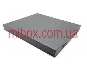 Корпус металлический Rack 1U, модель MB-1370vS (Ш483(432) Г372 В44) черный, RAL9005(Black textured)