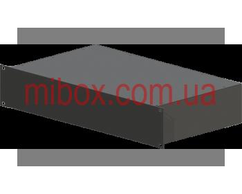 Корпус металлический Rack 2U, модель MB-2256RCS-W430H88L256, RAL9005(Black textured)