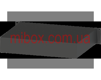 Корпус металлический Rack 2U, модель MB-2370RCS-W430H88L370, RAL9005(Black textured)
