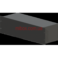 Корпус металлический Rack 3U, модель MB-3160RCS-W430H132L160, RAL9005(Black textured)