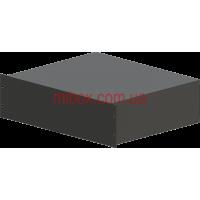 Корпус металлический Rack 3U, модель MB-3370RCS-W430H132L370, RAL9005(Black textured)