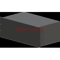 Корпус металлический Rack 4U, модель MB-4260S (Ш483(432) Г262 В176) черный, RAL9005(Black textured)
