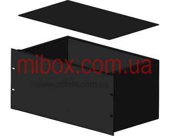 Корпус металлический Rack 5U, модель MB-5260RCS-W430H220L260, RAL9005(Black textured)