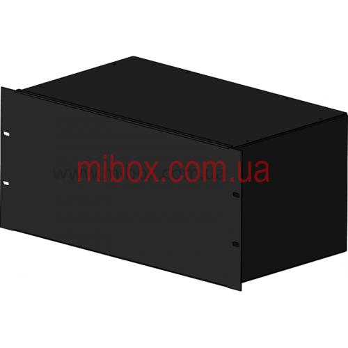 Корпус металлический Rack 5U, модель MB-5260S (Ш483(432) Г262 В220) черный, RAL9005(Black textured)