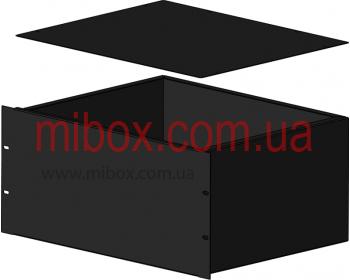 Корпус металлический Rack 5U, модель MB-5360S (Ш483(432) Г362 В220) черный, RAL9005(Black textured)