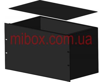 Корпус металлический Rack 6U, модель MB-6260S (Ш483(432) Г262 В264) черный, RAL9005(Black textured)
