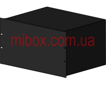 Корпус металлический Rack 6U, модель MB-6360S (Ш483(432) Г362 В264) черный, RAL9005(Black textured)