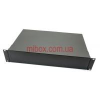 Корпус металлический Rack 2U, модель MB-2260RCSP-W430H88L260, RAL9005(Black textured)