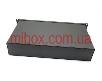 Корпус металлический Rack 2U, модель MB-2260SP (Ш483(432) Г262 В88) черный, RAL9005(Black textured)