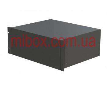 Корпус металлический Rack 4U, модель MB-4370SP (Ш483(432) Г372 В176) черный, RAL9005(Black textured)