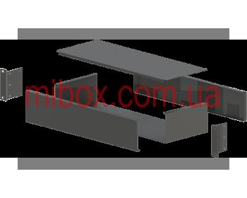 Корпус металлический Rack 2U, модель MB-2160RCSP-W430H88L160, RAL9005(Black textured)