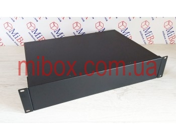 Корпус металлический Rack 2U, модель MB-2310SP (Ш483(432) Г312 В88) черный, RAL9005(Black textured)