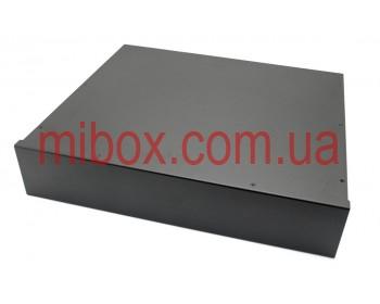 Корпус металлический Rack 2U, модель MB-2370SP (Ш483(432) Г372 В88) черный, RAL9005(Black textured)