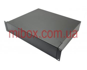 Корпус металлический Rack 2U, модель MB-2370RCSP-W430H88L370, RAL9005(Black textured)