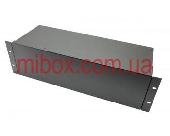 Корпус металлический Rack 3U, модель MB-3160SP (Ш483(432) Г162 В132) черный, RAL9005(Black textured)